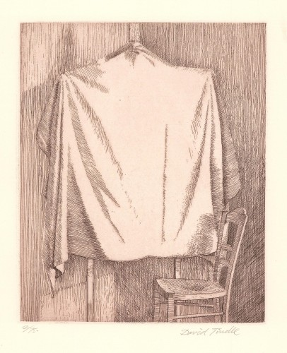 Covered Easel and Chair, 1996