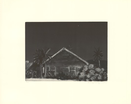 House and Palm Tree, 2001