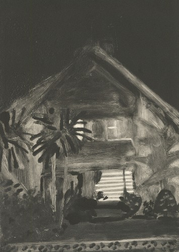 House with Palm Trees, 2001