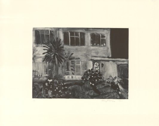 House with Palm Tree, 2001