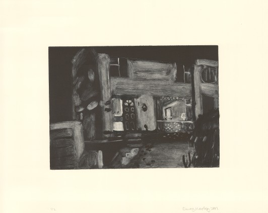 House with Lamp, 2001