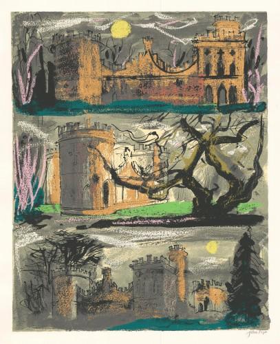 Clytha Castle, Triptych, 1981