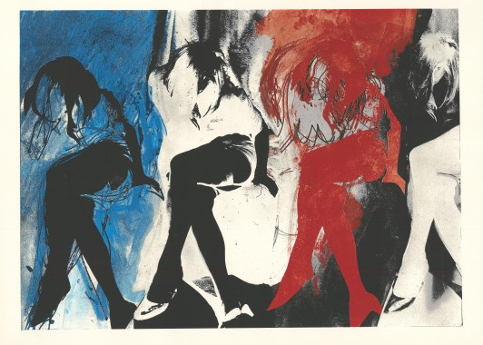 Eye and Camera: Blue and Red, 1972