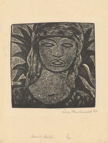 Aztec Head, 1928