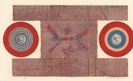 Red, Blue and Brown, 1965