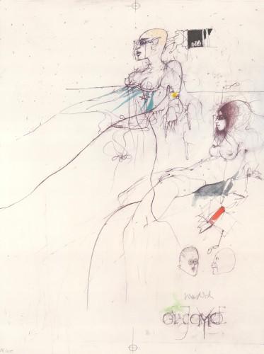 Giacomo Joyce (Plate 3), 1976