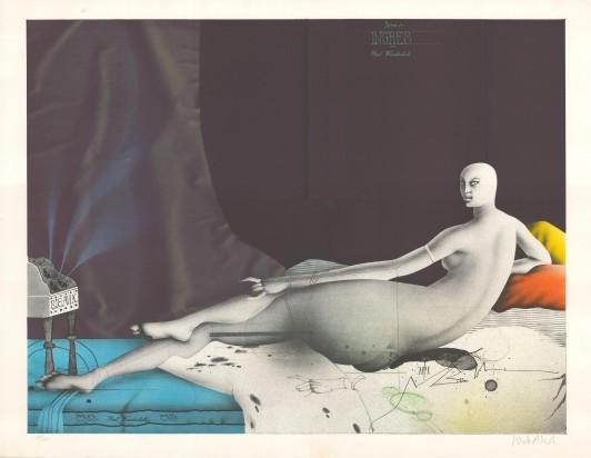 Odaliske (nach Ingres), 1975