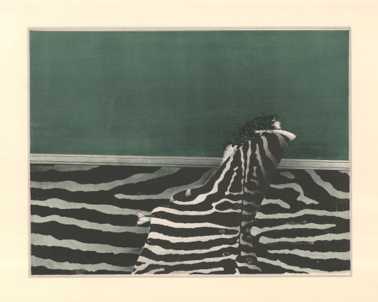 Joana im Sessel, 1968