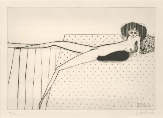 Liegende Frau, 2000