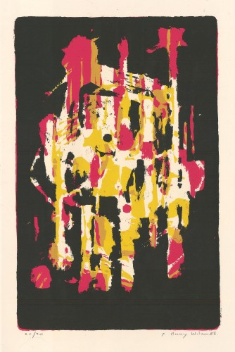 Black, Yellow and Pink, 1956