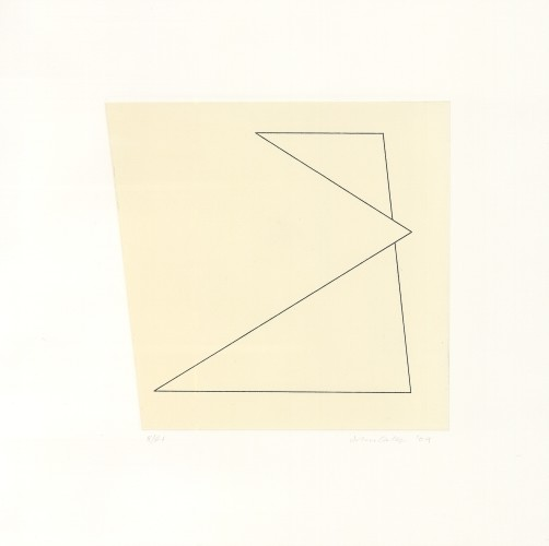 Linear Etching: Intrusion III, 2009