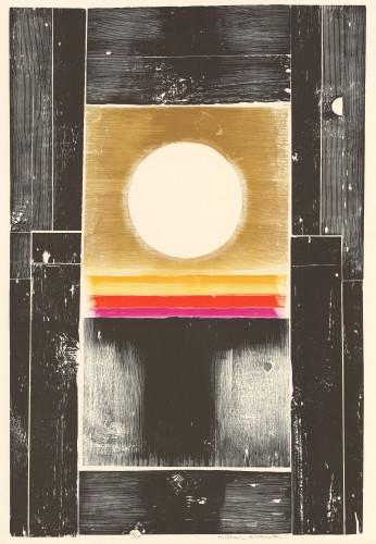 Scarlet Bar (White Sun) , 1972