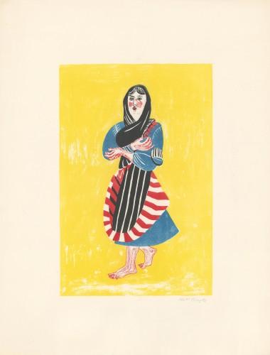 Peasant Girl, 1950