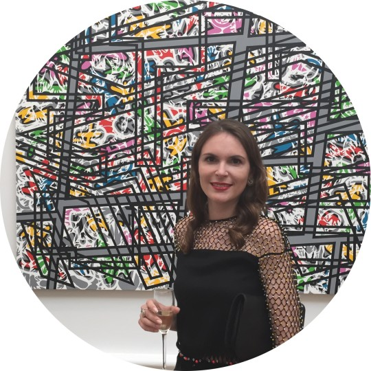 Elena Shchukina at The Royal Academy's Summer Party