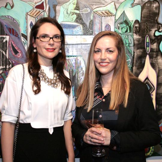 Elena Shchukina with Ida Kvetny