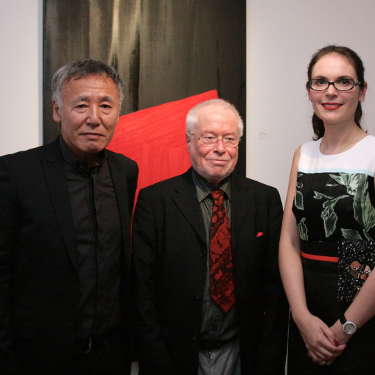 Rikizo Fukao with Lawrence Smith and Elena Shchukina