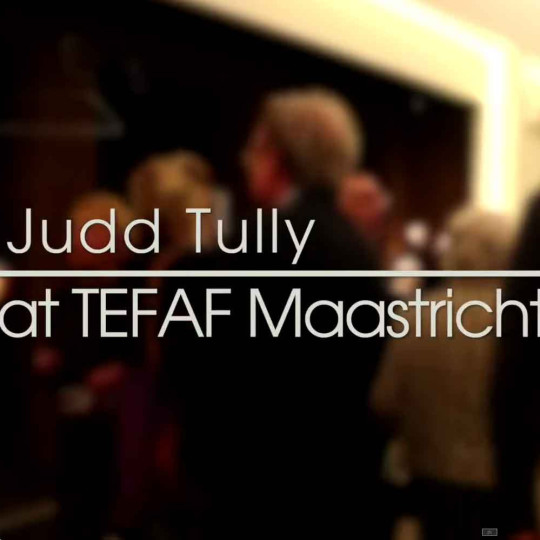 Judd Tully tours TEFAF Maastricht 2014