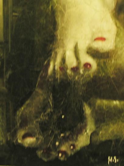 Hans Stofer To Rest, 2012 Gouache on Laser Printed Paper 30cm x 21cm