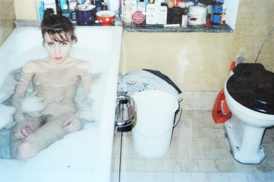 Annelies Štrba Sonia in the Bath, 1985 C-Print Mounted Behind Glass 100 x 150 cm Edition of 6 plus 1 artist's proofs
