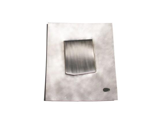 Simone ten Hompel Dot Spot, 2014 Silver 925, Enamel 21.5 x 25 x 1.5cm