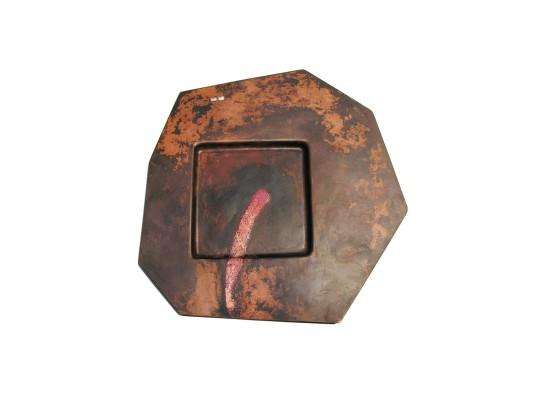 Simone ten Hompel Staple Stuff, 2014 Gilding Metal, Silver 925, Enamel 31 x 31 x 1cm