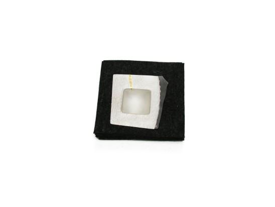Simone ten Hompel Speck series 2, 2015 Silver 800 & 925, Felt 13 x 13.5 x 2cm