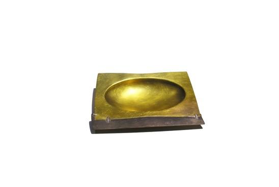 Simone ten Hompel Speck series 1, 2015 Brass, Silver 800 14 x 11 x 2.5cm