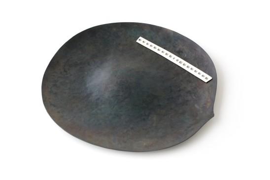 Simone ten Hompel Pods, 2014 Steel, Silver 999, Enamel 35 x 32 x 1.5cm