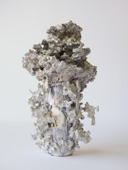 Christian Gonzenbach Hanabi 13, 2016 Ceramic, cast aluminum 25 x 17 x 14 cm
