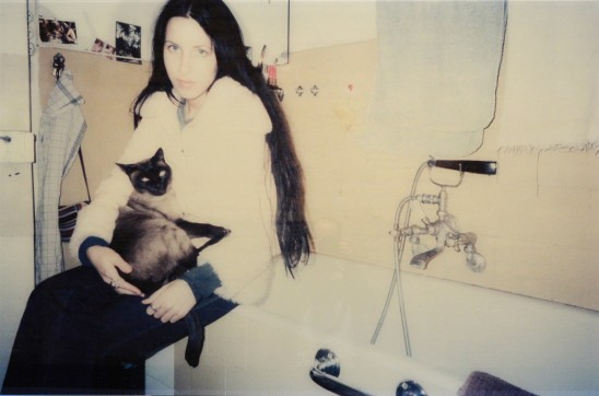 Annelies Štrba Linda with Ashi, 1994 Photograph on glass 100 x 150 cm edition of 3