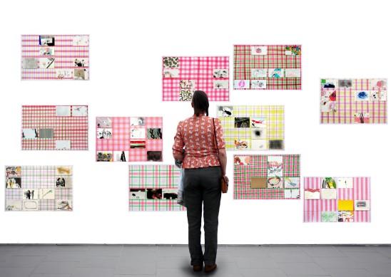 Esther Ernst Reflexe, 2018 Zeichnungen