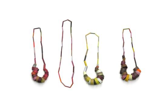 Sally Marsland, Untitled, Necklaces 2013/14