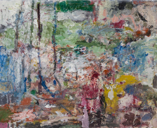 Tom Prochaska, Four Trees, 2017