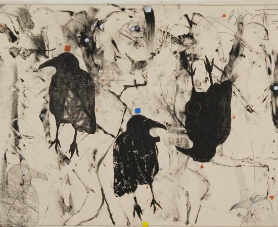 Rick Bartow, Crow's Instructions II, 2007