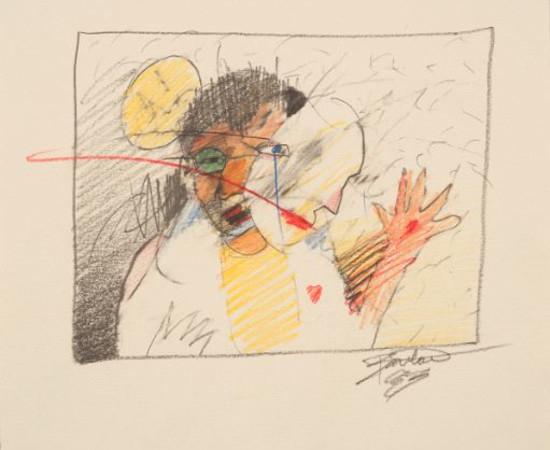 Rick Bartow, Untitled, 1983