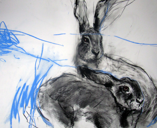 Margo Banks, Two Hares 4
