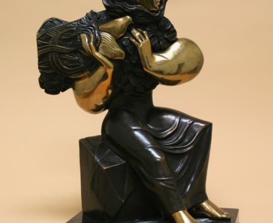 Alvar, Mujer Sentada
