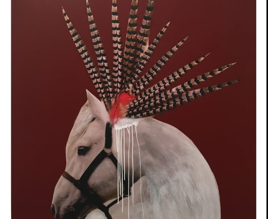 Anke Schofield, Horse Feathers VII