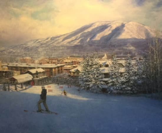 Dean Bowlby, View From Aspen Mountain