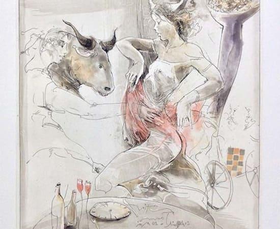 Jurgen Gorg, Zodiac Series - Taurus