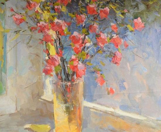 Alex Shabadei, Spring Still Life