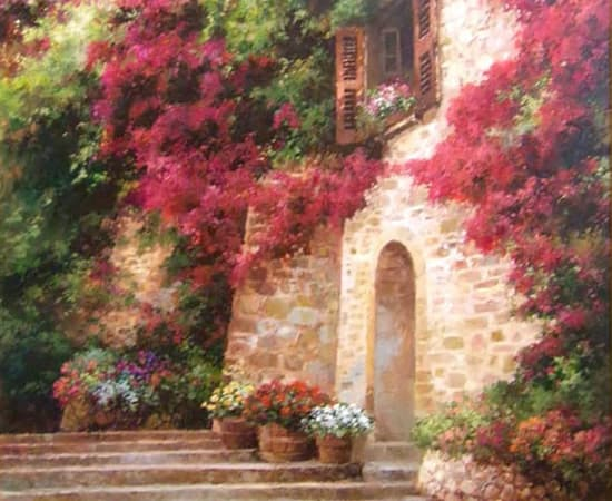 Paul Guy Gantner, Giardino de Flore