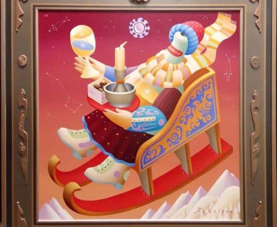 Anton Arkhipov, Alpine Winter Chardonnay