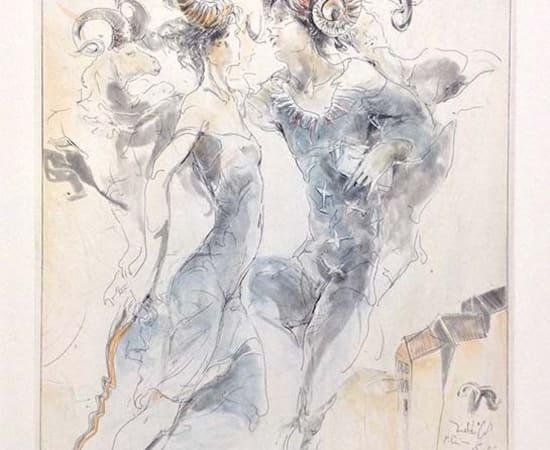 Jurgen Gorg, Zodiac Series - Aries