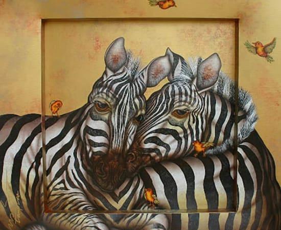 Luis Sottil, Couples Harmony (Zebras)