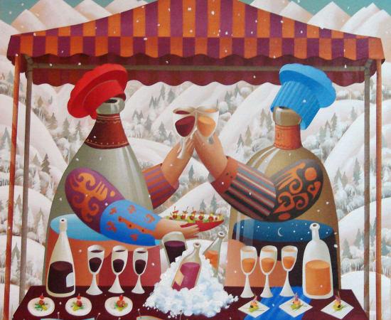 Anton Arkhipov, Food & Wine