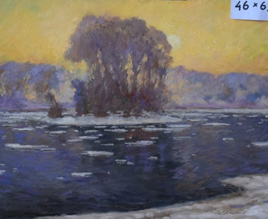 Vladimir Pentjukh, Morning on the River