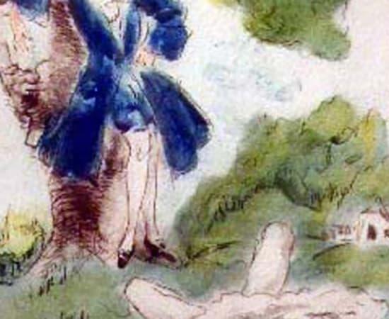Louis Icart, Meadow Maiden