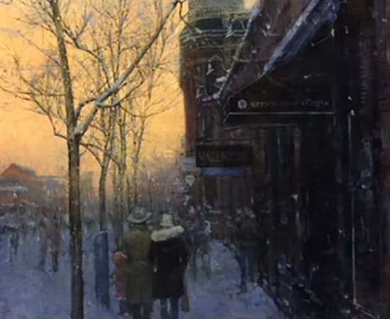Dean Bowlby, Day Warms the Approaching Night