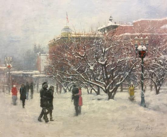 Dean Bowlby, Snow Flurries on Galena
